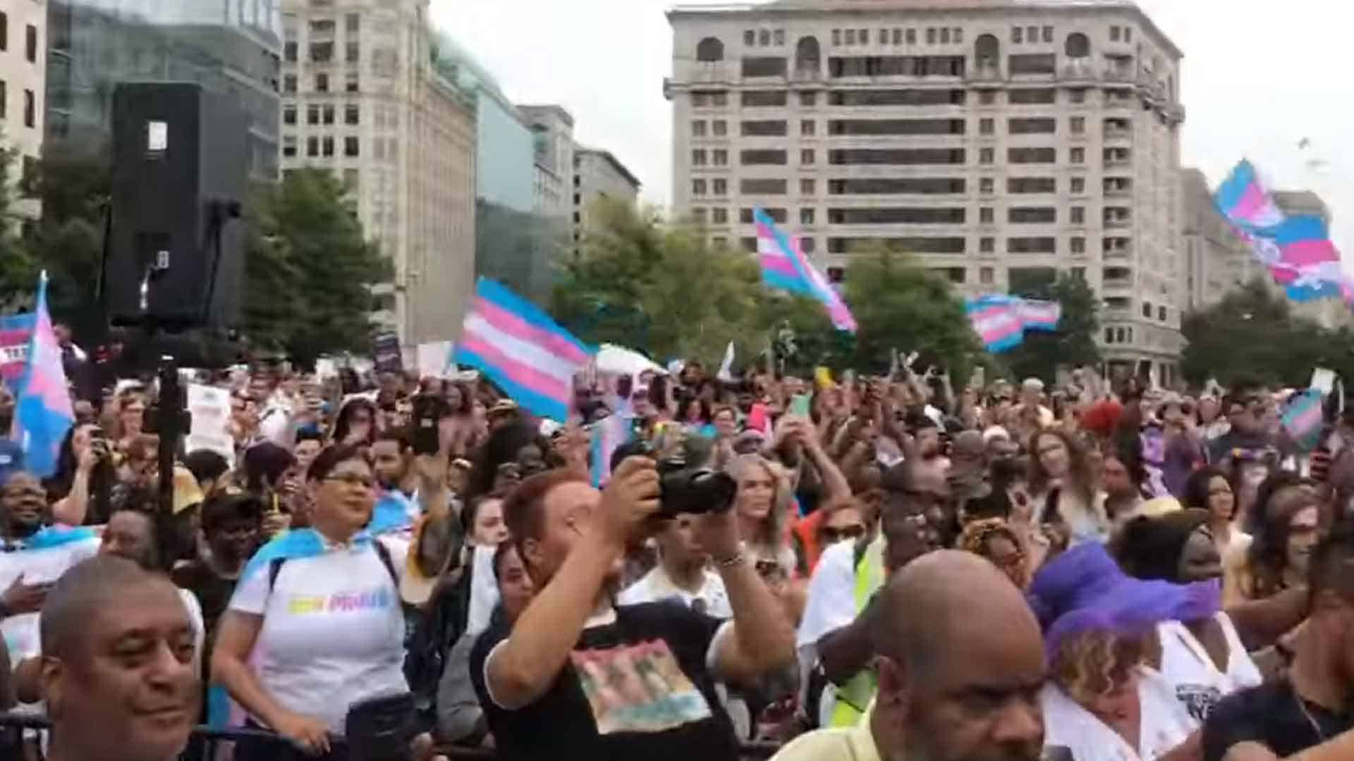 Trans March on DC