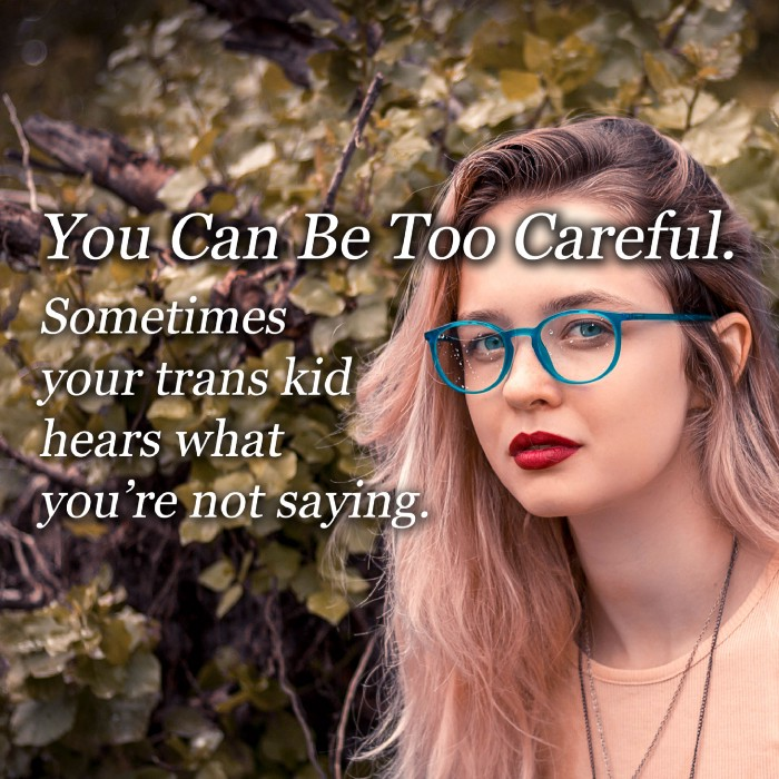 Mistakes parents of trans kids make
